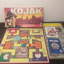 arrow games kojak detective board game 1975 by