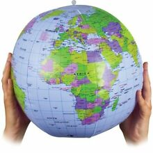 atlas large 40cm inflatable world earth