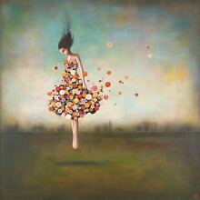 fantasy art boundlessness bloom by duy huynh