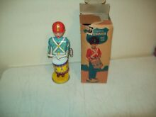 mechanical drummer no 109 tin litho