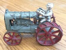 model 275 cast iron toy tractor