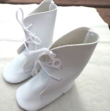 victorian doll victorian style doll boots in white