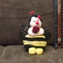 russ berrie bumble bee named bezzy plush