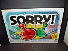 sorry game sorry board game parker brothers