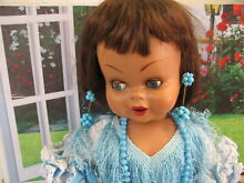1950 s celluloid doll 72 cm guendolina