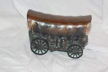 banthrico inc metal covered wagon copper