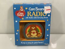 care bears 1983 am radio w carrying strap nos