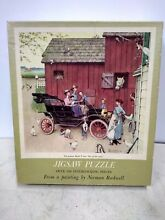 norman rockwell puzzle 1953 ford norman rockwell 50th