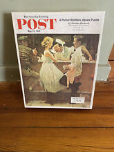 norman rockwell puzzle norman rockwell 500 pieces jigsaw