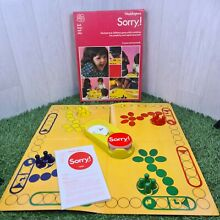 sorry game sorry family board game 1977