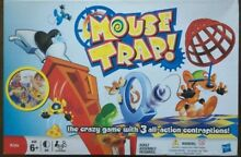 mouse trap game mouse trap board game complete set