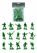 army men 100 green toy soldiers pinata toy