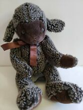 russ berrie lil trubbles brown ribbon sheep