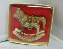 rocking horse rare hard to find russ berrie 1986