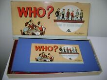 parker bros who a game hidden identity board