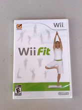 wii fit nintendo wii 2008 brand new factory