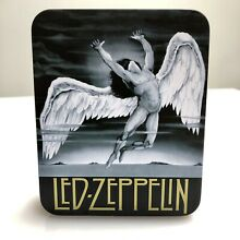 zeppelin rare led leather wallet in