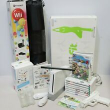 wii fit nintendo wii console 9 games board