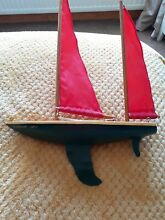 wooden boat red baron