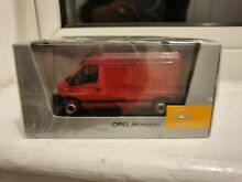 norev opel movano red 1 43 new in sealed