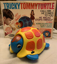 tommy toy rare 1968 remco tricky tommy turtle