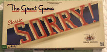 board game sorry classic edition new sealed