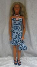 bionic woman made to fit dolls 70 handmade
