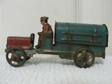 penny toy 1920 s tin tanker truck germany