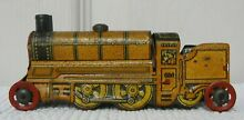 penny toy 1920 s 30 s tin train engine