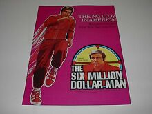 six million dollar man kenner no 1 toy in america poster
