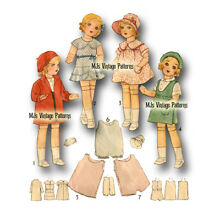 doll 1930s pattern 13 14 shirley temple