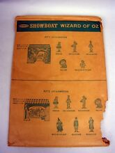 remco showboat theatre playset 1962