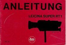 Anleitung Instruction User S Manual