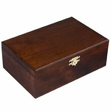 wooden storage box for standard size chess