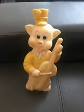 1960 s pig rubber squeaky toy 21 5cm