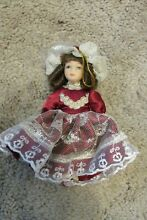 delton jointed porcelain doll figurine no