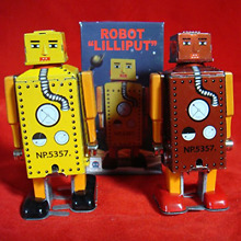 robot lilliput r120 r121 new model toy wind up