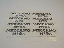 meccano outfit lid transfer decal