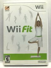 wii fit nintendo wii fitness game complete