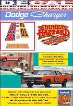 general lee decal dodge charger 1969 dukes