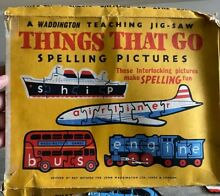 waddingtons 1963 things that go 11 learning