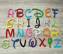 disney wooden letters numbers 3mm thick