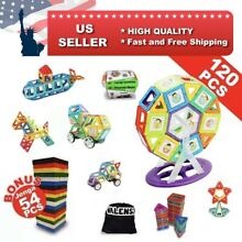 plasticant magnetic building blocks 120pc gift