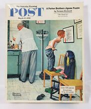 norman rockwell puzzle saturday post puzzle parker brother