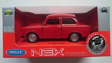 trabant welly 601 red 1 34 die cast metal
