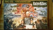 axis allies board game 1942 second edition played once