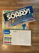 sorry game 1972 sorry board game parker