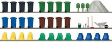 busch ho scale accessories 1136 refuse