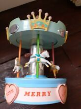 merry go round musical carousel horse collectable
