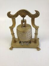 gong bell brass oriental himalayan style